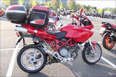 ROAD RIDER:Street motorcycle in Japan - Ducati Multistrada 1000DS ムルティストラーダ