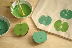 DIY reusable bags. super cute