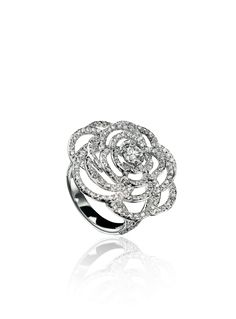 Chanel ring - I'm obsessed with all of their flower cocktail rings!
