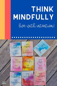 Choose Over Cards for Mindfulness and Positivity - Printable Meditation Cards Choose Life, Choose Joy, Yoga Words, Motivational Cards, Inspirational Message, Inspiring Messages, Funny Mom Memes, Meaningful Conversations, Partner Yoga