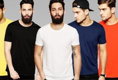 Pack of 5 - Simple T-shirts for Men Online in Pakistan Deal Today, Men Online, Pakistan, Simple, Mens Tops, T Shirt, Stuff To Buy, Fashion, Supreme T Shirt