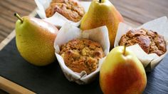 Low Carb Pear and Walnut Muffins | The Protein Bread Co : The Protein Bread Co