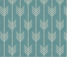 Spoonflower's Arrows in Marine Blue designed by door Spoonflower