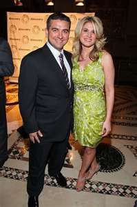 Buddy Valastro and his wonderful wife, Lisa.  Buddy is a cake master but knows that his family is the most incredible asset he has.  What he's done with Carlos Bakery is phenomenal.