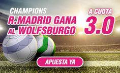 el forero jrvm y todos los bonos de deportes: wanabet supercuota 3 Real Madrid gana Wolfsburgo c...