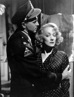 Marlene Dietrich and John Lund