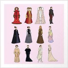 Geek Fashion, Only Fashion, Amidala Star Wars, Star Wars Planets, Star Wars Outfits, Canvas Prints, Art Prints, Meet The Artist, Star Wars Art