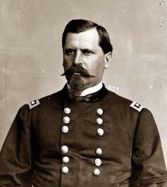 General William Babcock Hazen, a stern disciplinarian but valiant soldier fought with the Army of the Cumberland and later with Sherman.  He was a close friend of Ambrose Bierce, one of his former staff officers