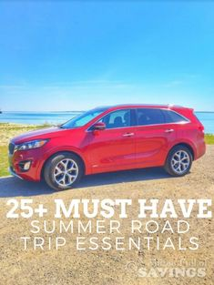 Planning a summer road trip? Be sure you're prepared with the must-have important summer road trip essentials. Get the list of road trip essentials on the blog! [ad]