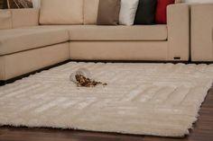 Super Flauschiger Und Weicher Teppich Für Ein Gemütliches Ambiente. #teppich  #teppich Flor