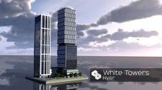 Skyscrapers 39 | White Towers | AMC | Skyscraper Week Minecraft Project
