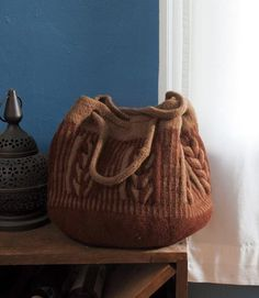 Intwined Bag - Knitting Patterns and Crochet Patterns from KnitPicks.com