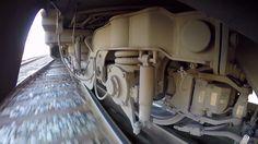 Тележка Штадлерского поезда, Эстония, 04.2016 Stadler EMU train bogie wheelcam, Estonia, 04.2016