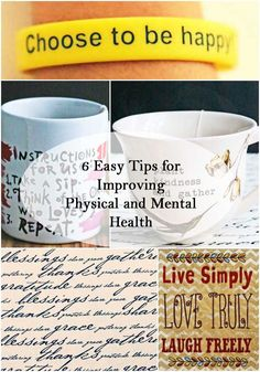 6 Easy Tips for Improving Physical and Mental Health  #fitness #health #healthyliving