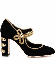 Embellished suede pumps | Dolce & Gabbana