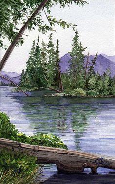 Lake Wenatchee Painting