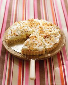 Easter Desserts // Coconut Cream Tart Recipe