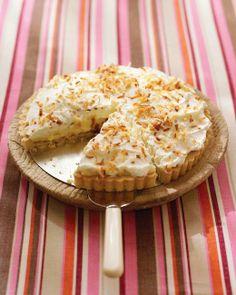 Easter Desserts // Coconut Cream Tart Recipe