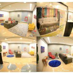 Espaço cor e conforto decorado na semana da arquitetura em 2014.