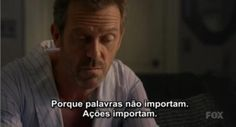 """""""I'm incapable of acting like a human being. Doctor House Frases, Gregory House, House Md, Hugh Laurie, Midnight Memories, Greys Anatomy, Me Quotes, Acting, Friendship"""