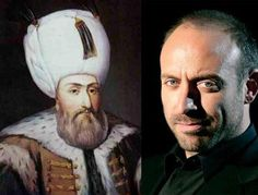 The Real Kanuni Sultan Suleyman (The Ottoman Emperor) vs Halit Ergenc
