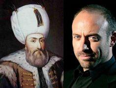 The Real Kanuni Sultan Suleyman (The Ottoman Emperor) vs Halit Ergenc