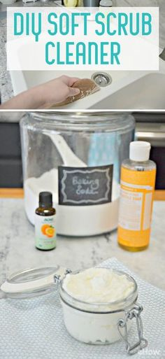 This DIY Soft Scrub Cleaner can be used in your kitchen and bathroom, and is so easy to make with a few household ingredients. It will get your sink, bathtub, scratched dishes, pots and pans and even your stove top clean in minute. It's the most amazing multi-purpose cleaner you can make! http://www.ehow.com/how_12343780_diy-soft-scrub-cleaner-use-kitchen-bathroom.html?utm_source=pinterest.com&utm_medium=referral&utm_content=freestyle&utm_campaign=fanpage