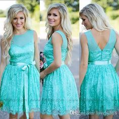 Buy wholesale bridesmaid gowns,burnt orange bridesmaid dresses along with camo bridesmaid dresses on DHgate.com and the particular good one- turquoise filly flair bridesmaids dresses country jewel backless ribbon lace short bridesmaid formal dress wedding party gowns plus size is recommended by lovely518 at a discount.