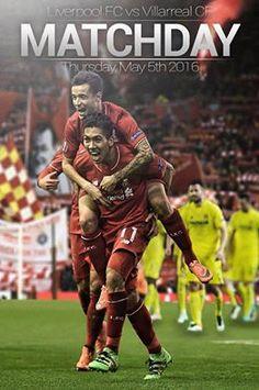 Matchday - Liverpool vs Villarreal #LFC
