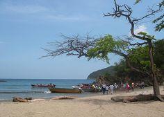 Playa cristal parque Tayrona #SomosTurismo