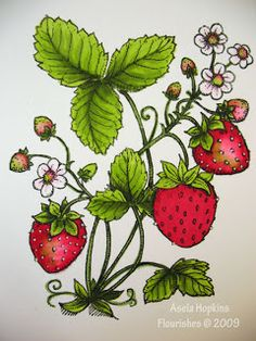 Strawberries this would be a cute tattoo! gg