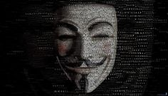 Anonymous Mask Wallpaper with Thousand Quotes