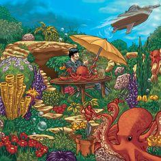 Octopus Garden by bigjackstudio.deviantart.com on @deviantART