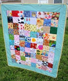 I spy quilt (8x10 different squares)