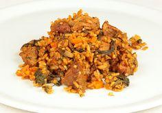 Recette Rouz jerbi de la cuisine Tunisienne