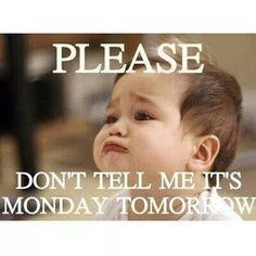 Nobody like Mondays