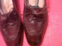 Brown Ferragamo winter shoes