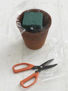 How to Make a Floral Centerpiece >> http://www.hgtv.com/decorating-basics/how-to-arrange-a-spring-flower-centerpiece/index.html?soc=pinterest