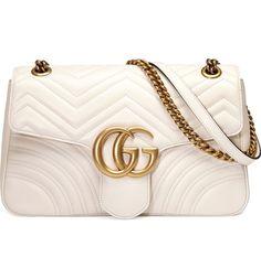 047ce5af01b0 Main Image - Gucci Medium GG Marmont 2.0 Tricolor Matelassé Leather  Shoulder Bag White Gucci Bag