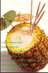 Tropical Pineapple  Vi Shake