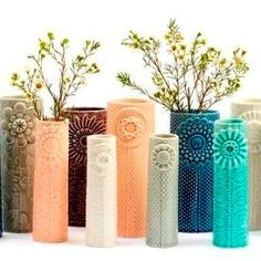 Beautiful vases by Thora Finnsdottir. I really want one of these because they are so gorgeous!