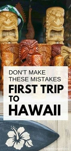 First time trip to Hawaii: Best things to do in Hawaii NOT. Mistakes first-time visitors make. Vacation tips for planning trip to Hawaii on a budget to Kauai, Maui, Oahu Hawaii, Big Island for outdoor travel destinations and Hawaiian culture with wha Kauai, Oahu Hawaii, Hawaii Trips, Hawaii Beach, Big Island Hawaii, Best Island Vacation, Hawaii Honeymoon, Hawaii Travel, Beach Travel
