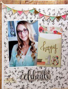 By: Fleur Smith - FleursByDesign http://fleursbydesign.blogspot.ca/ @crate_paper #confetti #lscrapbooking