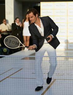 Roger Federer Miami 2014