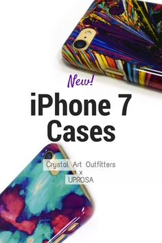Crystal iPhone 7 Cases, yass! Crystal Art Outfitters cases, made by UPROSA are now available for the new iPhone 7.