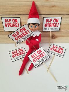 Most up-to-date Photos Elf Week Long Bundle - Set of 7 Concepts Elf Week Long Bundle – Set of 7 – Frugal Coupon Living Christmas Elf, Christmas Crafts, Christmas Goodies, Christmas Ideas, Elf Auf Dem Regal, Awesome Elf On The Shelf Ideas, Elf Magic, Elf On The Self, Naughty Elf
