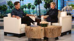 Rob Lowe's People's Choice Nomination on the Ellen Show. Ellen DeGeneres.