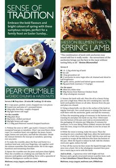 ~ Sense of tradition ~ Delicious Easter dishes with a fresh twist #locallife #Farnham #Surrey #food #drink #recipes #ideas #inspiration