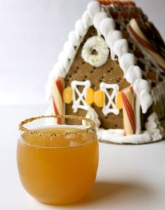 Gingerbread Apple Cocktail #cocktailrecipes