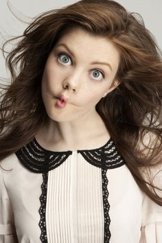 i just can't even handle how cute georgie henley is now